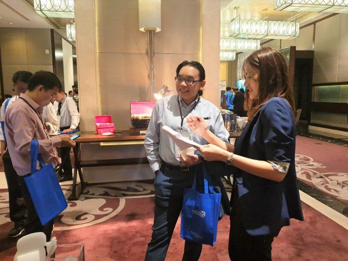 ทีม Business Solution แนะนำและให้คำปรึกษาระบบ Netizen Peony และ Netizen Arabica ให้กับผู้สนใจภายในงาน