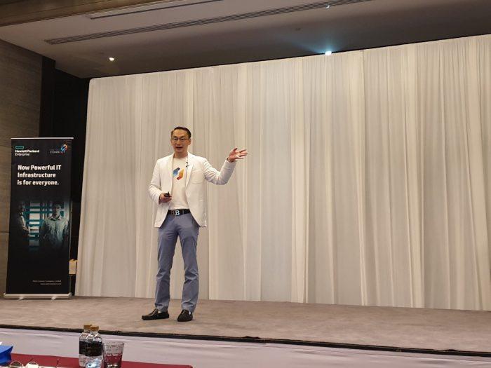 """คุณเสรี สาธุกิจชัย COO ของ Netizen ขึ้นบรรยาย ในหัวข้อ """"Journey to S/4HANA Quality Lifecycle with Netizen Peony"""""""