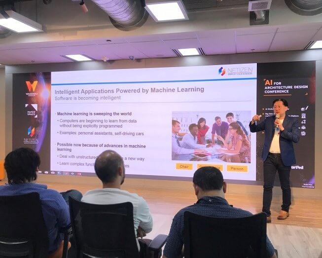 """คุณกฤษดา สาธุกิจชัย ร่วมบรรยายในหัวข้อ E Commerce Platform """"How AI can improve for Building Material Supply Chain"""