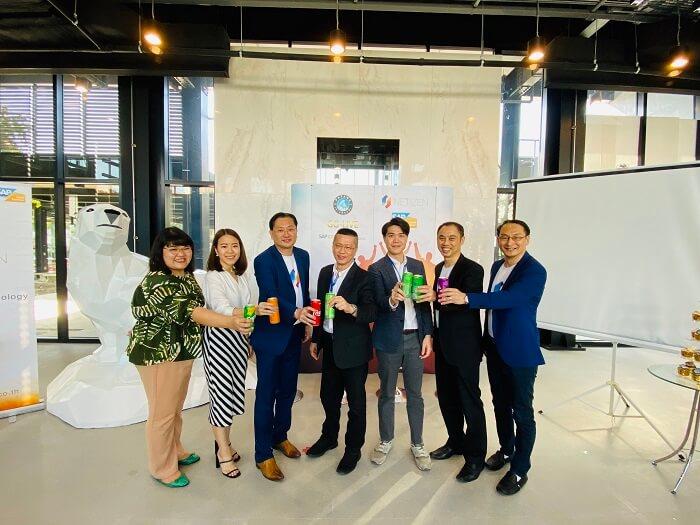 ทีมผู้บริหาร บริษัท เนทติเซนท์ จำกัด, บริษัท พัฒนาอินเตอร์คูล และ Sap Thailand ร่วมแสดงความสำเร็จการ Go-Live ระบบ Netizen Arabica