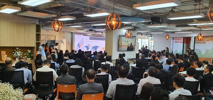 ภาพบรรยากาศภายใน งาน Netizen ร่วมกับ Tarad.com, Stock2morrow และ Green World Media Thailand เชื่อมต่อ ERP รูปแบบใหม่