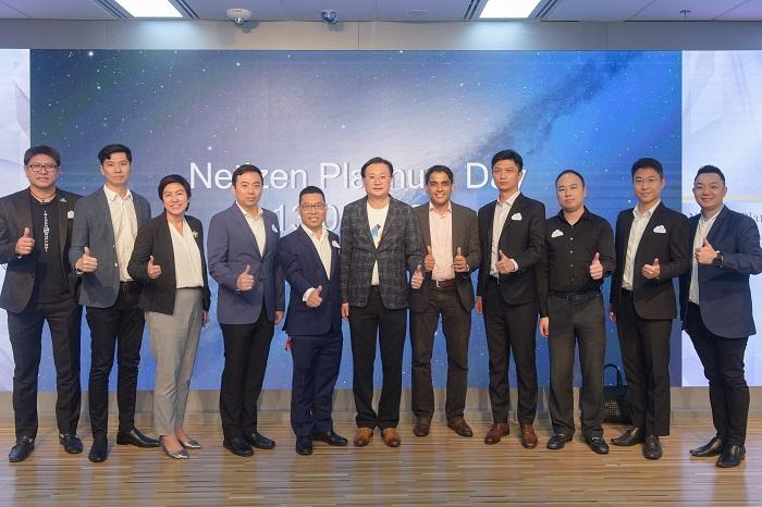 Netizen, SAP และพาร์ทเนอร์ ของ Netizen ร่วมเป็นสักขีพยานในการลงนามเป็นสมาชิก United VARS เป็นตัวแทน 1 ใน 15 บริษัทในทวีปเอเชีย