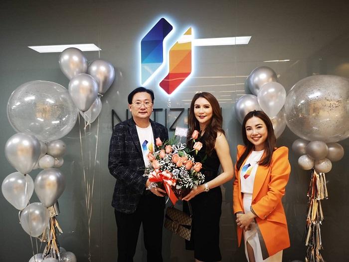 You&I Group Co.,Ltd ร่วมแสดงความยินดีและร่วมเฉลิมฉลองให้กับ Netizen ภายในงาน Netizen Platinum Day