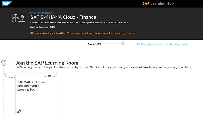 ตัวอย่างภาพ คอร์สการพัฒนาทักษะ SAP S/4HANA Cloud Implementation – Finance