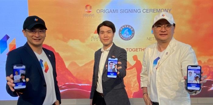 ทีมผู้บริหารจาก เนทติเซนท์ จำกัด และพัฒนา อินเตอร์คูล จำกัด ร่วมลงนามวางระบบ Origami.Life Collaboration Platform ด้วยเทคโนโลยี Face Recognition