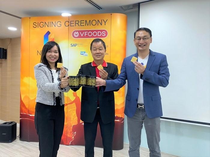 ผู้บริหาร Netizen, Variety Foods และตัวแทนจาก SAP Thailand ร่วมแสดงความยินดีในการวางระบบ SAP Business ByDesign version Netizen Arabica